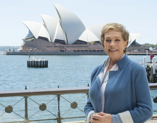 Dame Julie Andrews in Sydney to cast the 60th Anniversary production of Lerner and Loewe's My Fair Lady which she will direct in 2016 Image: Destination NSW/James Morgan Photography