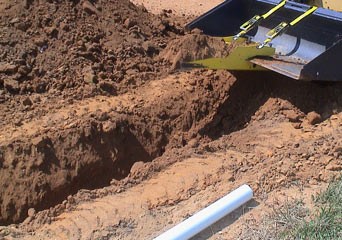 What to do if you hit a gas pipe while digging
