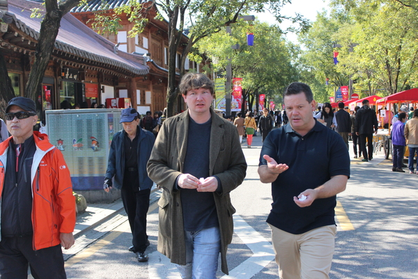 Gary Mehigan joins the Jeonju Bibimbap Festival Copyright: Chef's Ink