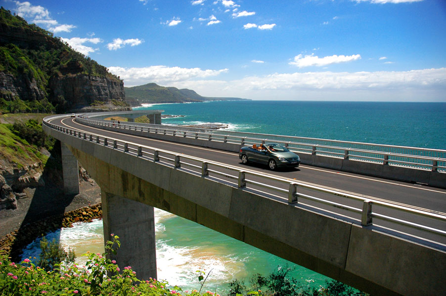 The Grand Pacific Drive extends from Sydney'€™s Royal National Park to the city of Wollongong
